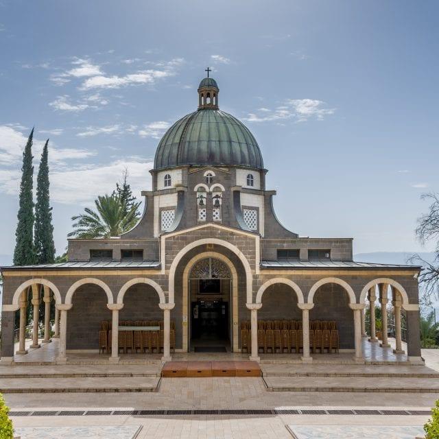 Mount of Beatitudes - exterior